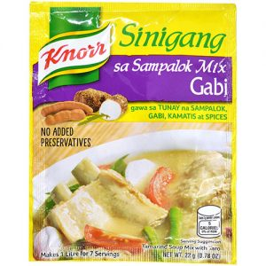 Knorr Sinigang Sa Sampalok With Gabi Mix 22g