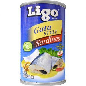 Ligo Sardines Gata 155g
