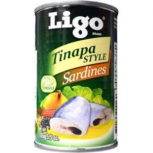 Ligo Sardines Tinapa 155g