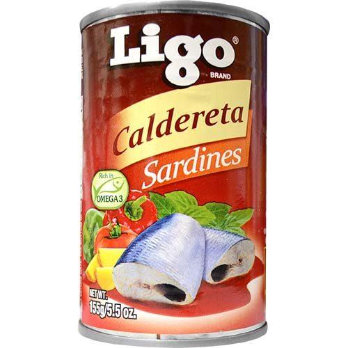 Ligo Sardines Caldereta 155g