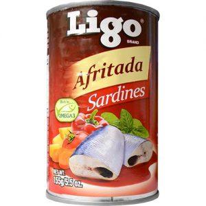 Ligo Sardines Afritada 155g