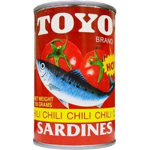 Toyo Chili Sardines 155g