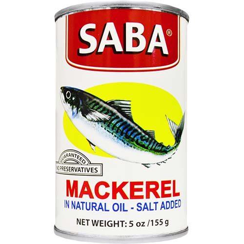 Saba Mackerel 155g