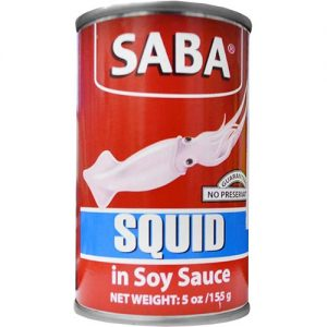 Saba Squid 155g