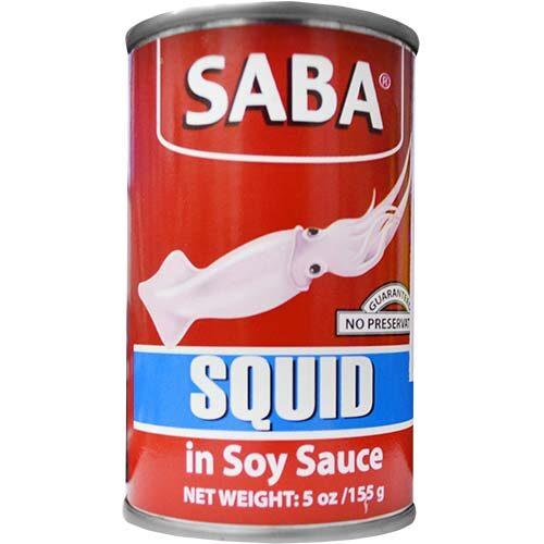 Saba Squid 155g