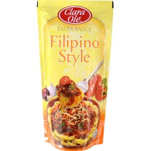 Clara Ole Spaghetti Sauce Filipino Style 250g