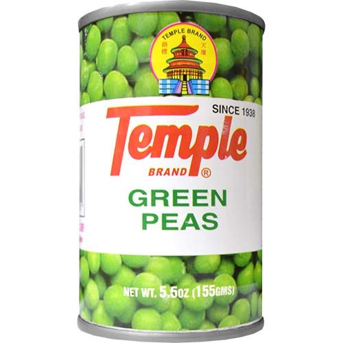 Temple Green Peas 155g