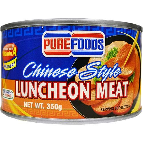 Purefoods Luncheon Meat Round 350g