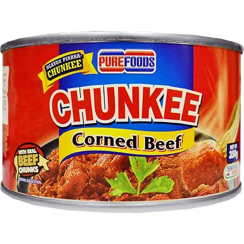 Purefoods Chunkee Corned Beef (L) 350g