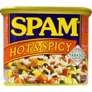 Hormel Spam Hot And Spicy 340g