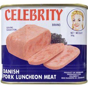 Celebrity Pork Luncheon Meat 300g