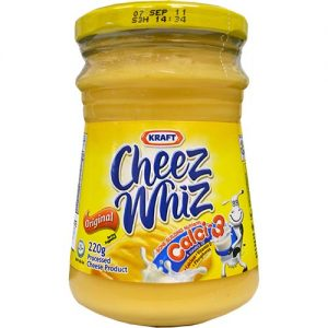 Kraft Cheez Whiz Regular (S) 210g