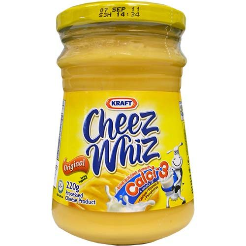 Kraft Cheez Whiz Regular (S) 210g