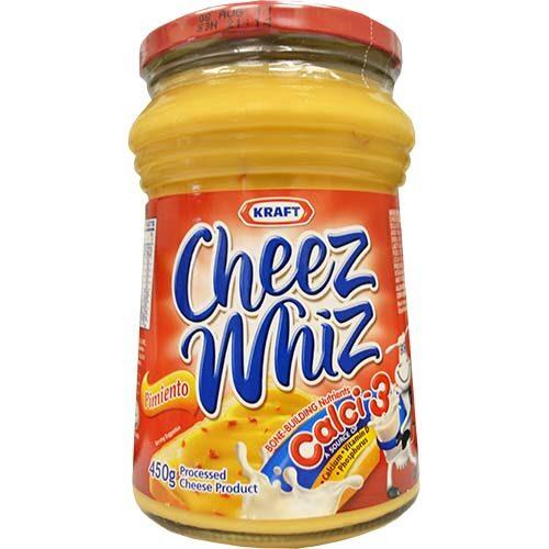 Kraft Cheez Whiz Pimiento (L) 440g