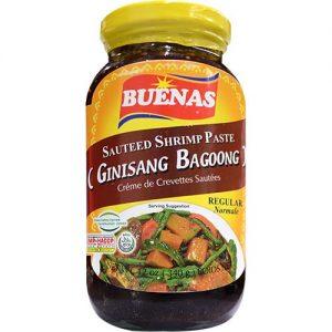 Buenas Ginisang Bagoong Regular 340g