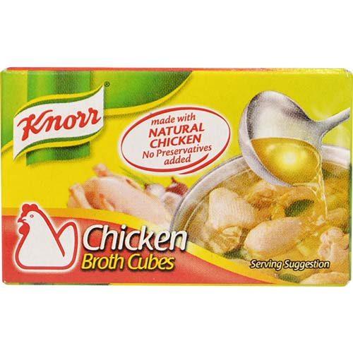 Knorr Chicken Broth Cubes (S) 20g