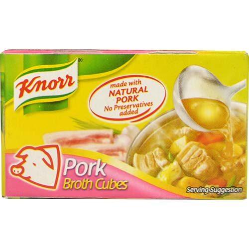 Knorr Pork Broth Cubes (S) 20g