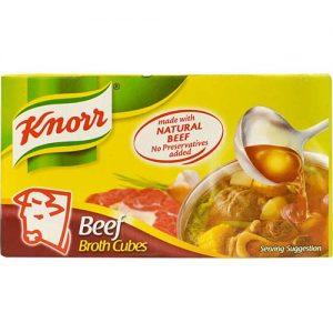 Knorr Beef Broth Cubes (L) 60g