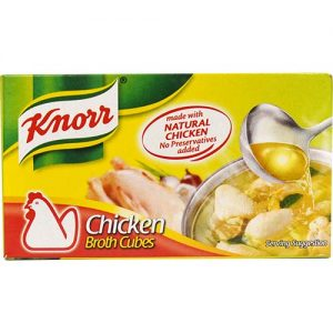 Knorr Chicken Broth Cubes (L) 60g