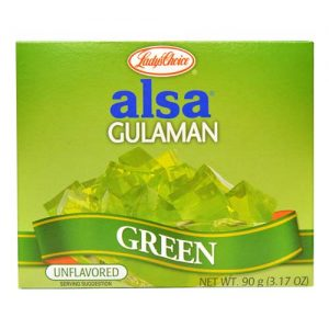 Lady's Choice Alsa Gulaman Green 90g