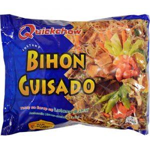 Quickchow Instant Bihon Guisado 65g