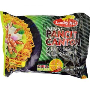 Lucky Me Instant Pancit Canton Chilimansi 60g