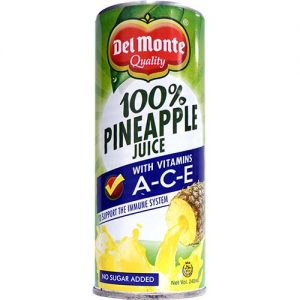 Del Monte Pineapple Juice (S) 240ml