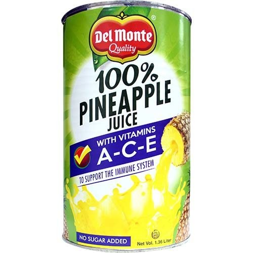 Del Monte Pineapple Juice (L) 1360ml