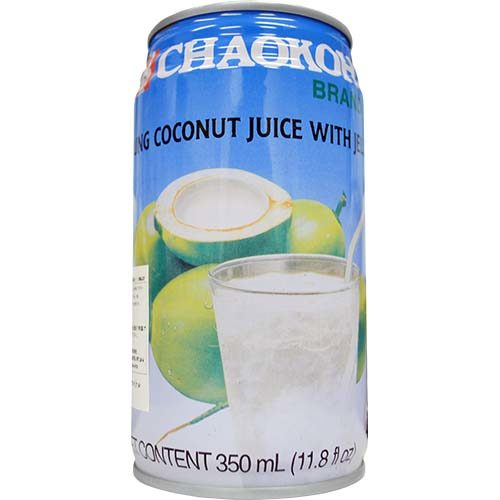 Chaokoh Young Coconut Juice With Jelly 350ml