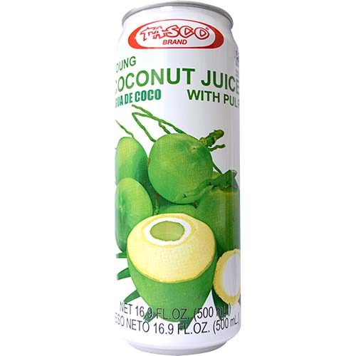 Tasco Young Coconut Juice With Pulp (L) 500ml