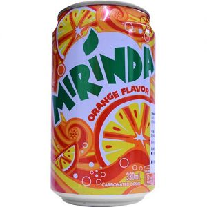 Mirinda Orange Juice 330ml