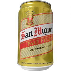 San Miguel Pale Pilsen Beer in Can 330ml