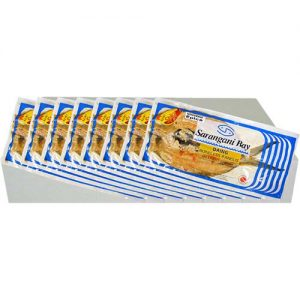 Sarangani Daing Bangus Hot 1pc 300-400g 1case 8kg