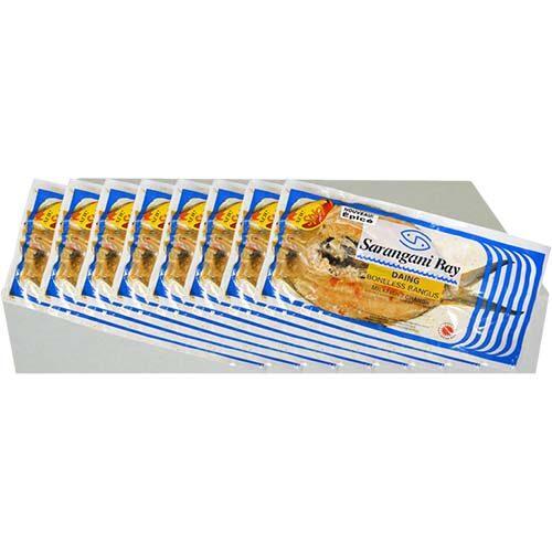 Sarangani Daing Bangus Hot 1pc 300-400g 1case 8kg