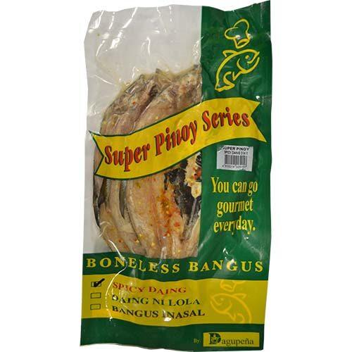 Dagupena Spicy Daing Bangus 3pcs/pack 600g