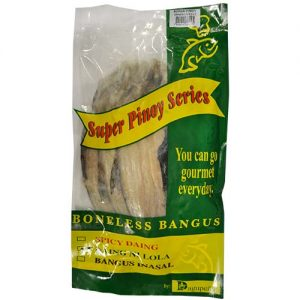 Dagupena Daing Bangus Nilola 3pcs/pack 600g