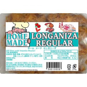 Homemade Longaniza Regular 500g