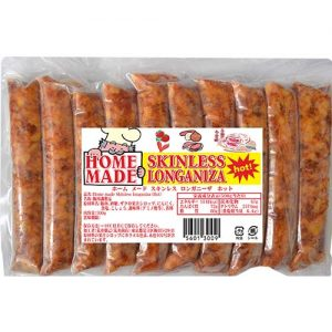 Homemade Skinless Longaniza Hot 500g