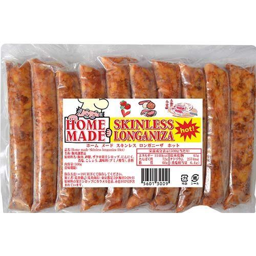 Homemade Skinless Longaniza Hot 500g