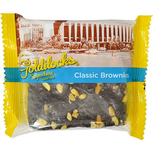 Goldilocks Brownies 125g