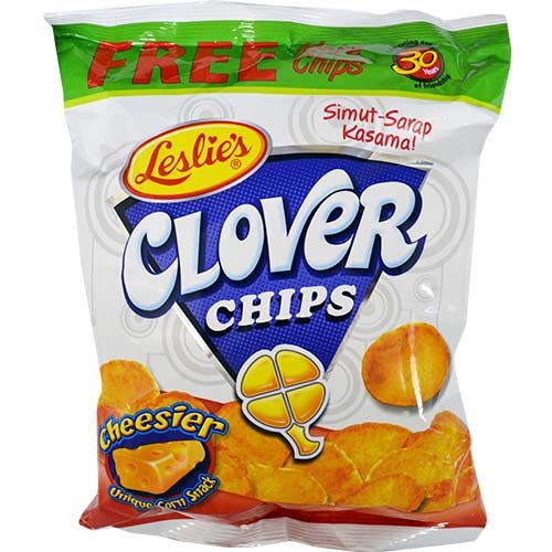 Leslie's Clover Chips Cheese 55g