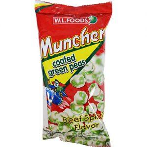 Muncher Green Peas (Beef Spicy) 70g