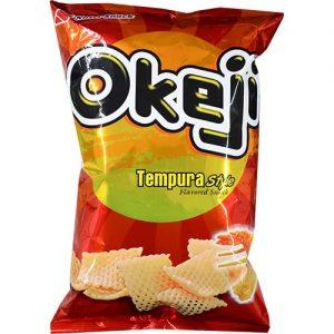 Okeji Tempura Flavor Snack 100g