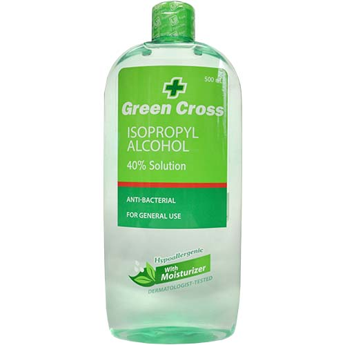 Green Cross Alcohol Moisturizer 500ml Akabane Bussan