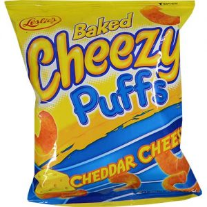 Leslies Baked Cheezy Puffs 55g
