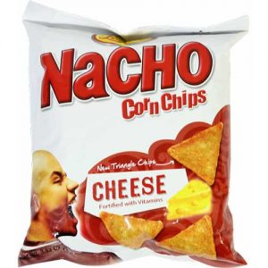 Leslies Nacho Corn Chips Cheese 100g