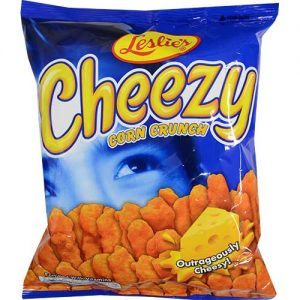 Leslies Cheezy Corn Crunch 70g