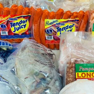 Frozen Chicken, Fish, Meat and Ready to Cook