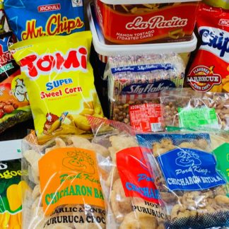 Snacks, Chicharon, Peanuts and All Time Favorites