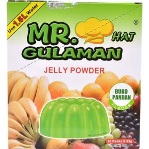 Mr. Gulaman Buko Pandan 24g (10 packs)